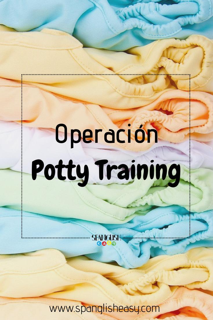 Imagen a color para pinterest - Operación potty training