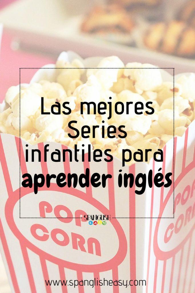 Imagen de una caja de cine de palomitas - Imagen para pinterest Las mejores series de televisión infantiles para aprender inglés