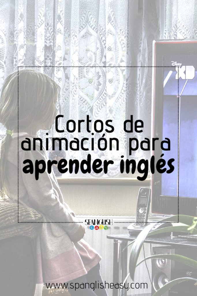 cortos de animación para aprender inglés en casa - imagen para pinterest