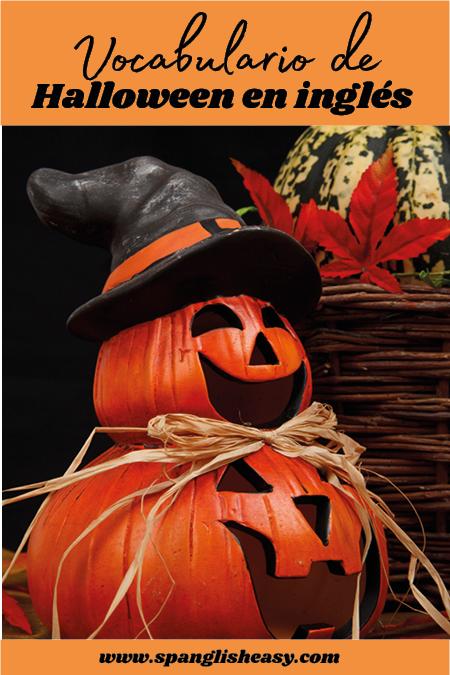 Vocabulario Halloween inglés