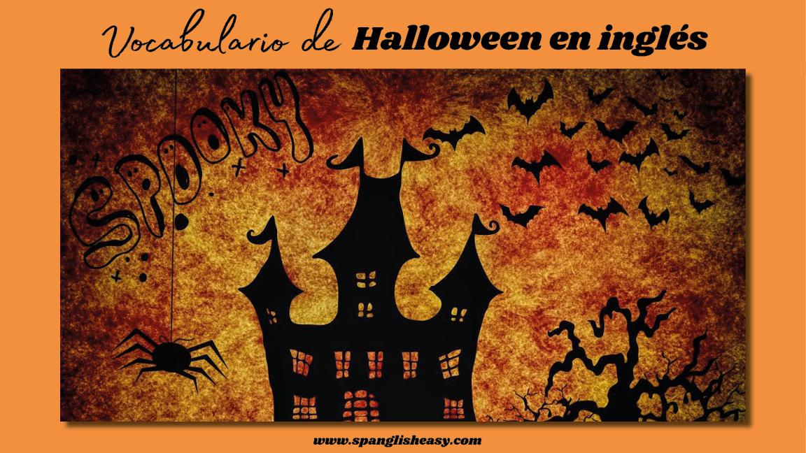 Vocabulario de inglés para Halloween