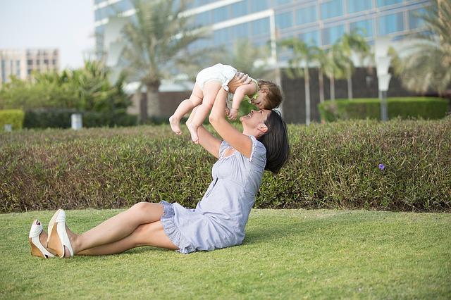Fotografía de un madre y una hija