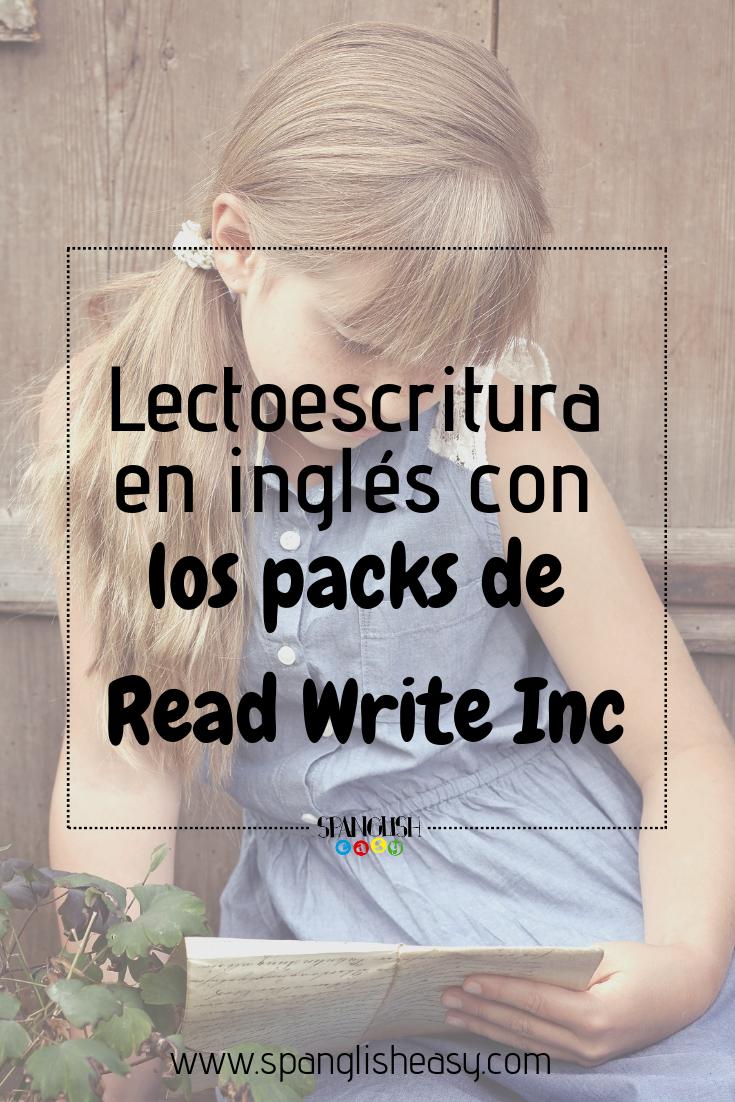 Lectoescritura en inglés
