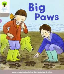 imagen de un libro big paws