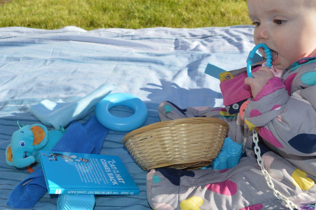 cestas sensoriales - azul