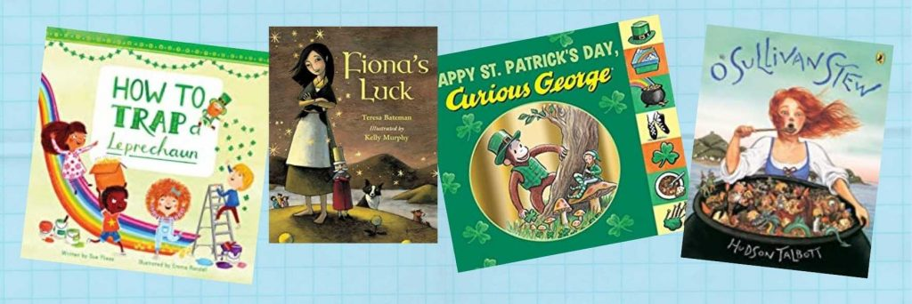8 Libros para celebrar San Patricio en inglés