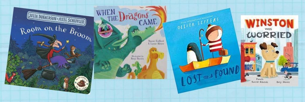 Mis libros en inglés para niños favoritos