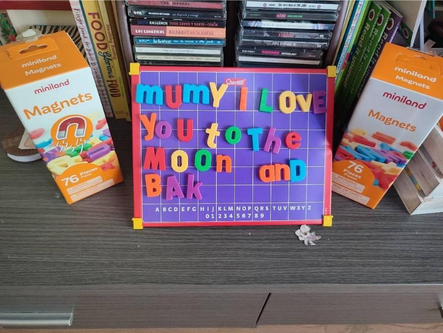 lectoescritura en inglés en casa con amor