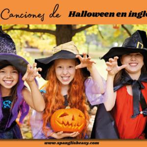 10 canciones en inglés para Halloween
