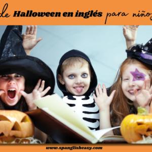 Libros en inglés de Halloween para niños que saben leer