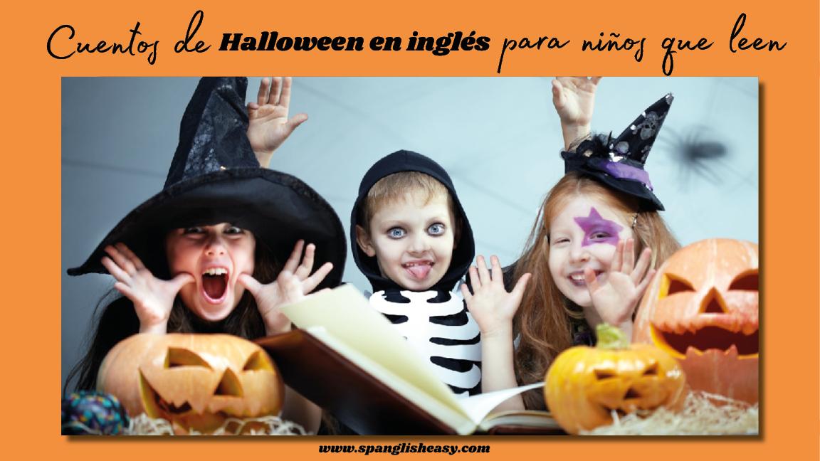 Libros de Halloween para niños que leen