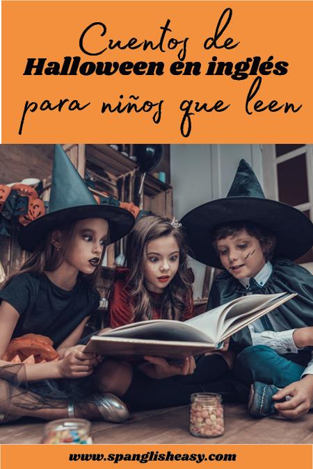 libros Halloween para niños que leen